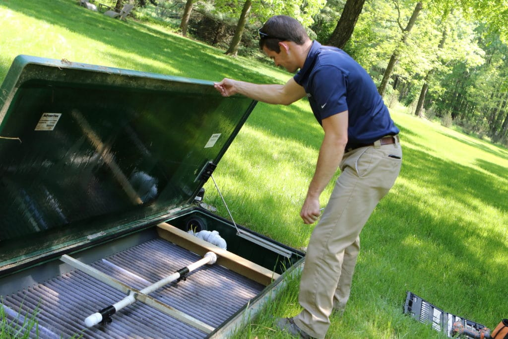 home inspection septic system